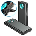 Baseus Amblight 20000mAh QC & PD Powerbank - Schwarz