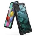 Ringke Fusion X Design Samsung Galaxy A51 Hybrid Hülle - Camouflage / Schwarz