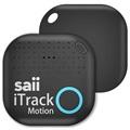 Saii iTrack Motion Alarm Smart Schlüsselfinder - Schwarz