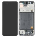 Samsung Galaxy A51 Oberschale & LCD Display GH82-21669A - Schwarz