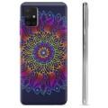Samsung Galaxy A51 TPU Hülle - Buntes Mandala