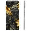 Samsung Galaxy A51 TPU Hülle - Goldene Blätter