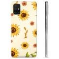 Samsung Galaxy A51 TPU Hülle - Sonnenblume