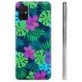 Samsung Galaxy A51 TPU Hülle - Tropische Blumen